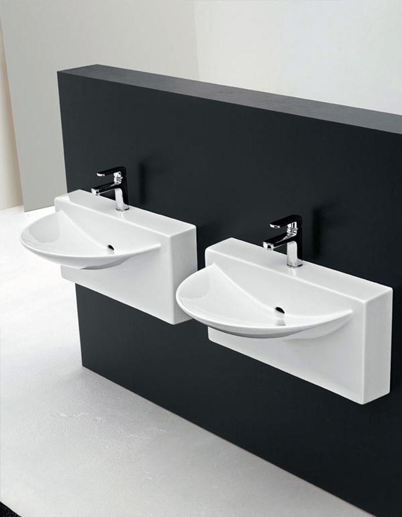 أحواض غير تقليدية حمامات إيطالية بتصميمات غير تقليدية