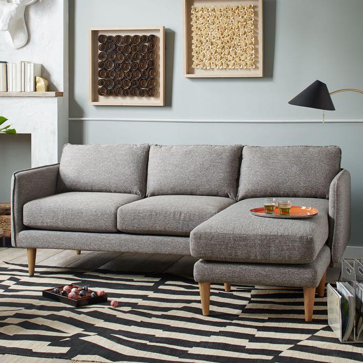 أريكة بأرجل ظاهرة 10 نصائح لاختيار الأريكة المثالية  لغرفة جلوسك