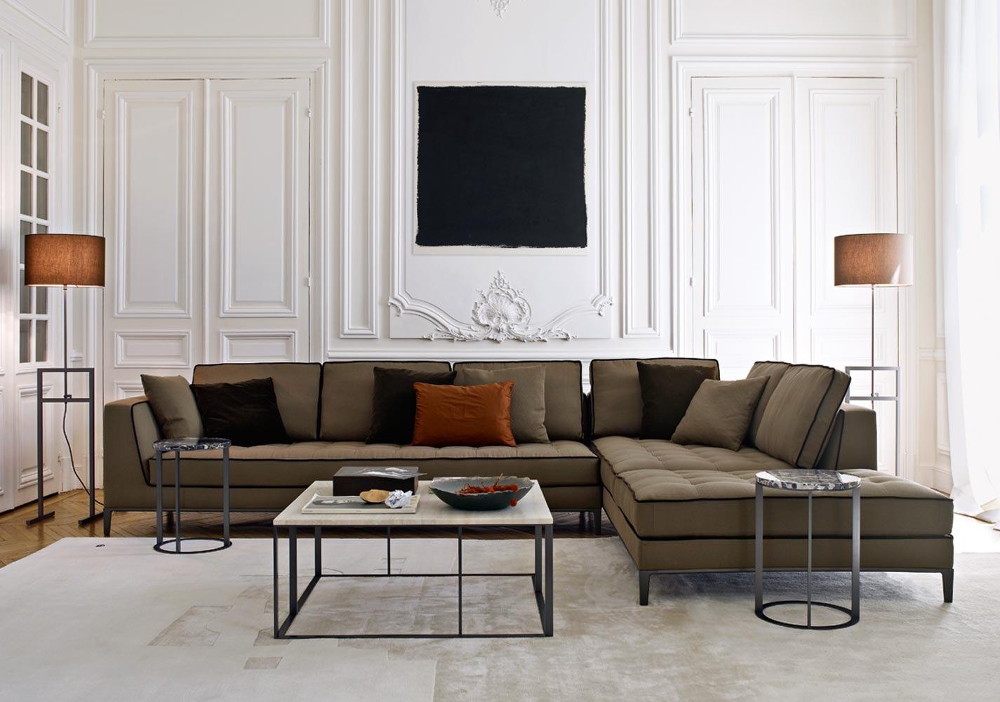 أريكة حرف L 10 نصائح لاختيار الأريكة المثالية  لغرفة جلوسك