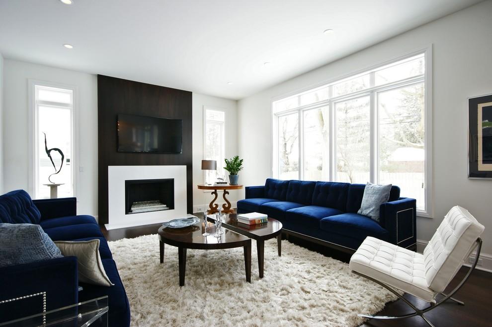 أريكة زرقاء أريكة زرقاء