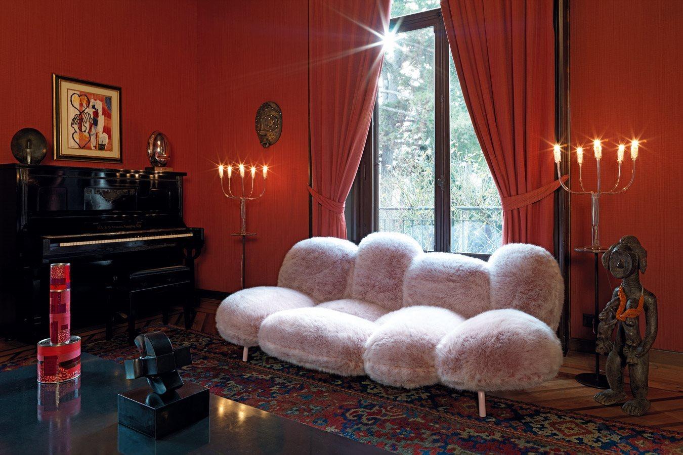 أريكة عصرية غريبة 3 الراحة والعصرية في تصميمات أرائك غريبة وغير تقليدية