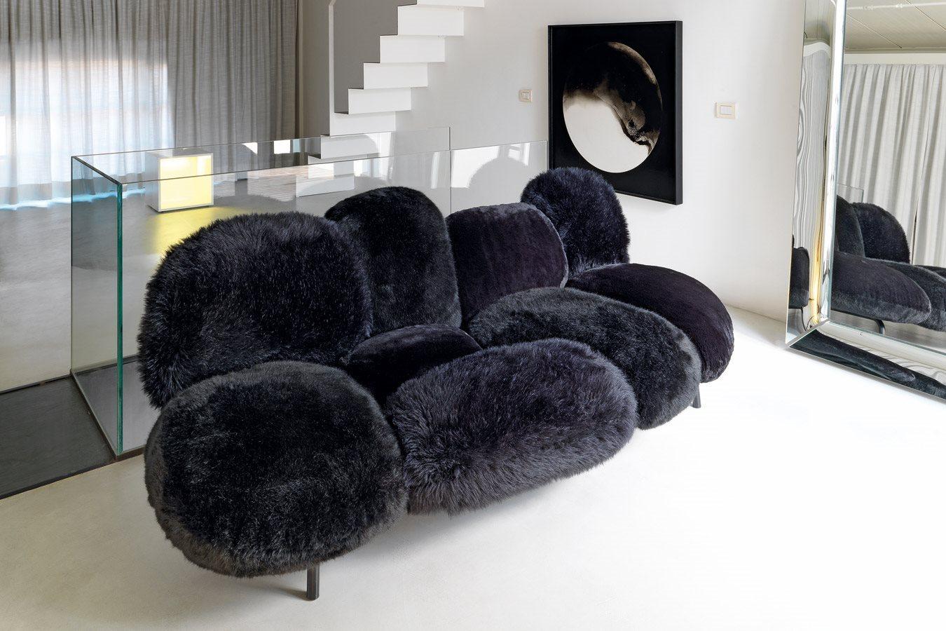 أريكة عصرية غريبة 5 الراحة والعصرية في تصميمات أرائك غريبة وغير تقليدية