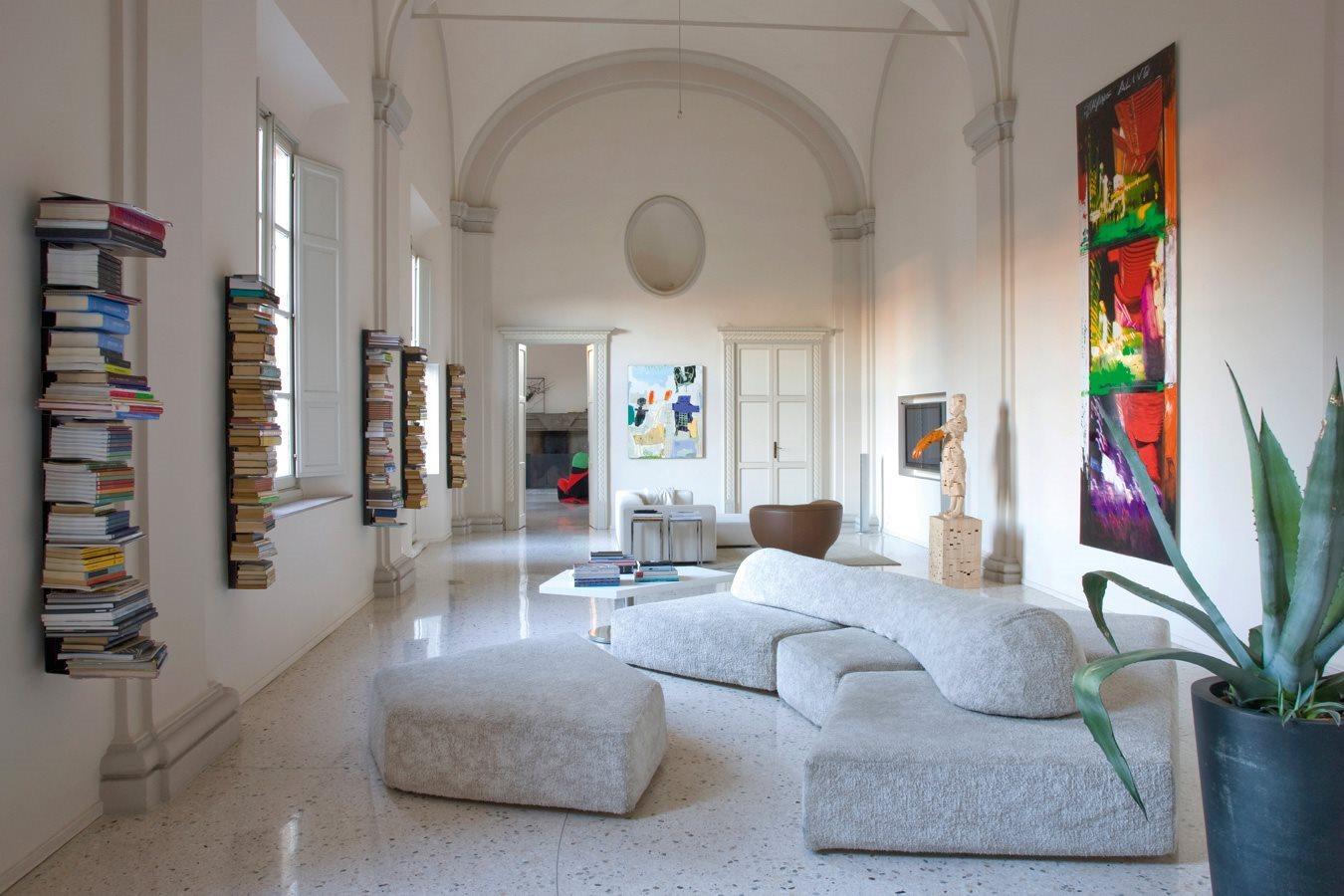 أريكة عصرية غريبة 6 الراحة والعصرية في تصميمات أرائك غريبة وغير تقليدية