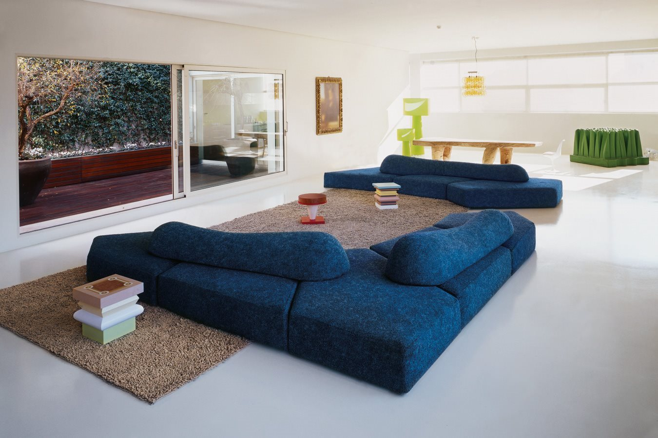 أريكة عصرية غريبة 8 الراحة والعصرية في تصميمات أرائك غريبة وغير تقليدية