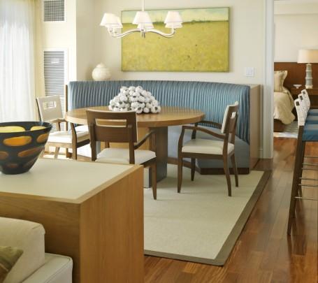 أريكة غرفة طعام  دائرية 1