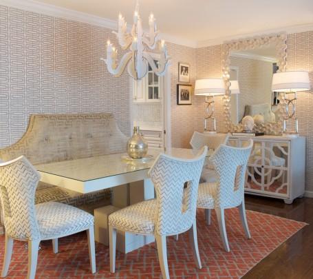 أريكة غرفة طعام منقوشة 2