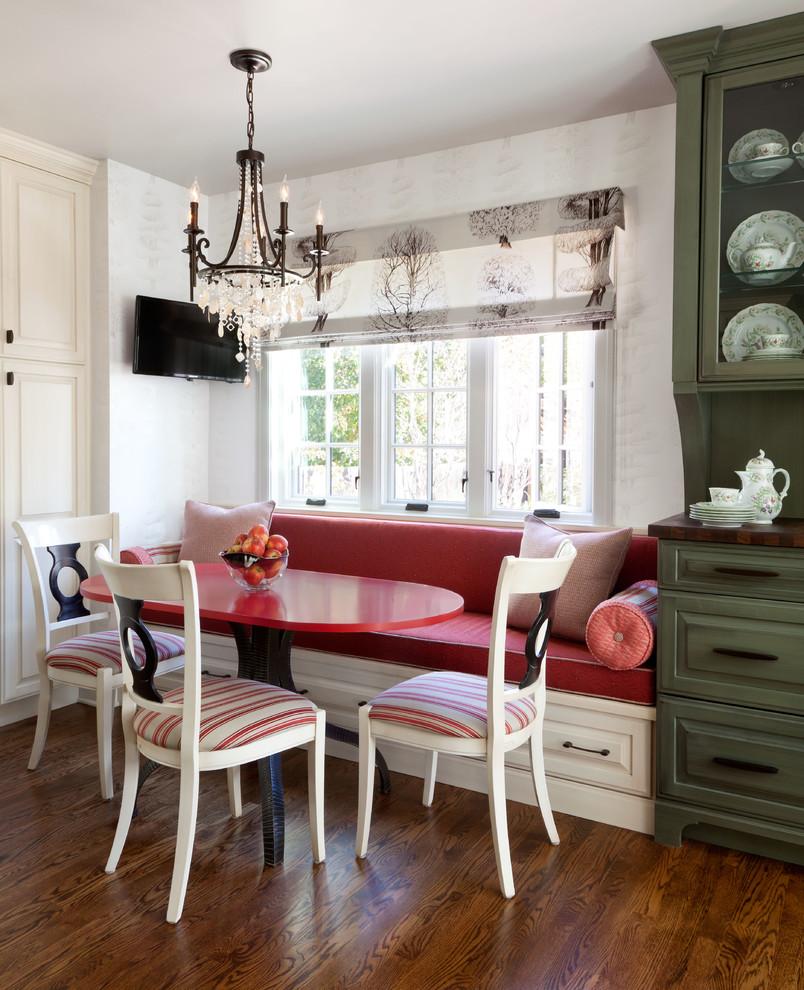 أريكة غرفة طعام 5 الأريكة في غرفة السفرة.. لمحبي الراحة والتميز