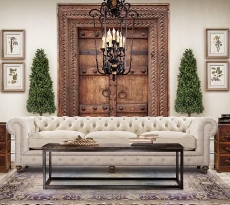 أريكة كلاسيكية أنيقة 2