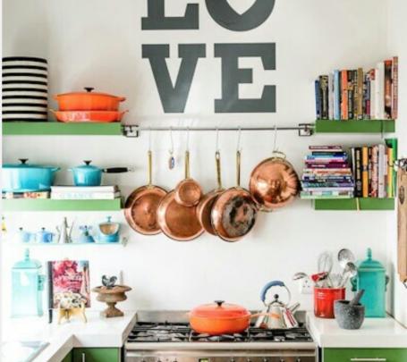 أواني مطبخ ملونة 2