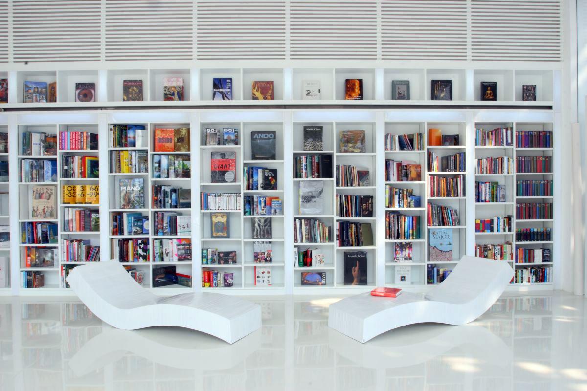 تصميم مكتبة عصري أفكار لتصميم مكتبات منزلية عصرية