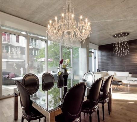 20 تصميم للثريا الكريستال بعيدًا عن الكلاسيكية والتكرار