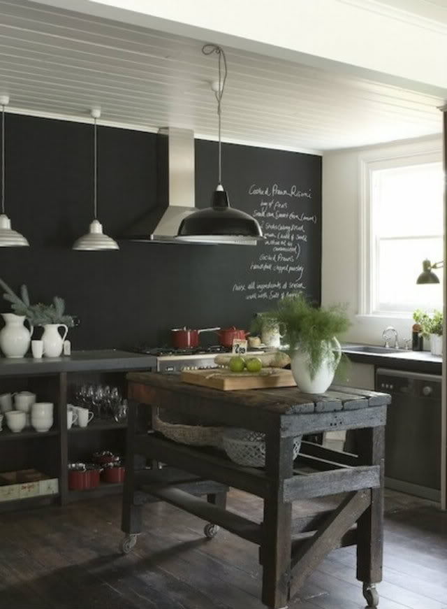 جدار مطبخ سبورة 5 أفكار متميزة لتزيين جدران مطبخك