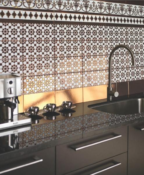 جدار مطبخ من البلاطات المنقوشة 5 أفكار متميزة لتزيين جدران مطبخك