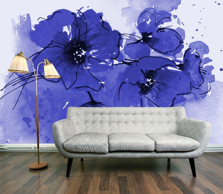 حائط برسوم ورود عصرية كيف تحولين حوائط منزلك للوحات فنية مبهرة؟