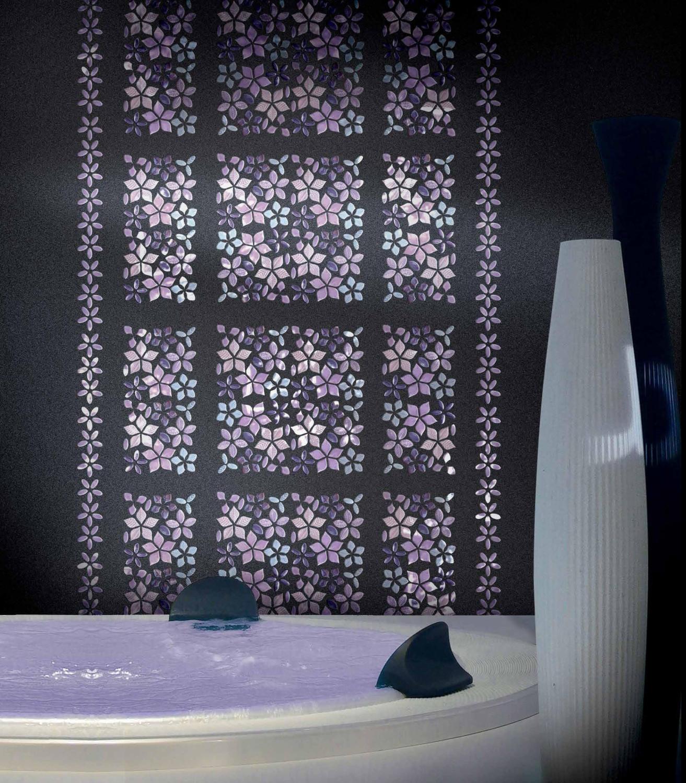 حائط حمام رائع 1 1313x1500 تصميمات حوائط مبهرة في 10 حمامات مودرن رائعة
