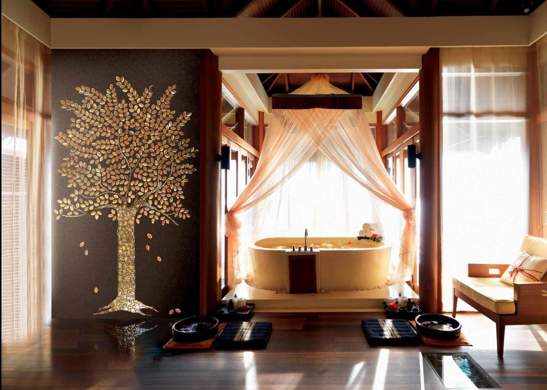 حائط حمام رائع 10 1500x1068 تصميمات حوائط مبهرة في 10 حمامات مودرن رائعة