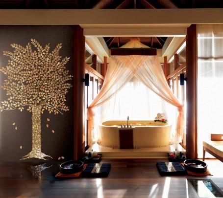 تصميمات حوائط مبهرة في 10 حمامات مودرن رائعة