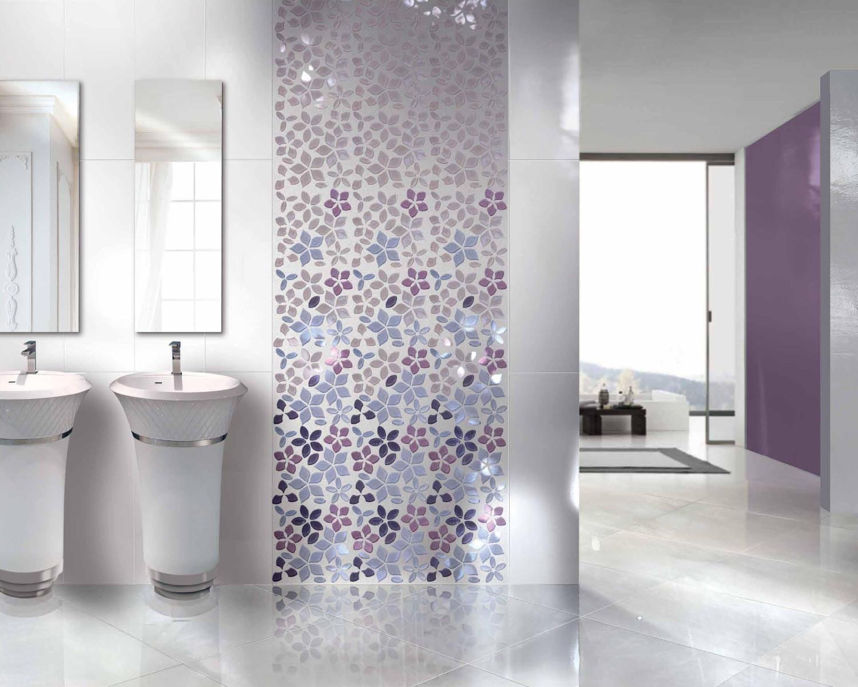 حائط حمام رائع 3 1500x1201 تصميمات حوائط مبهرة في 10 حمامات مودرن رائعة