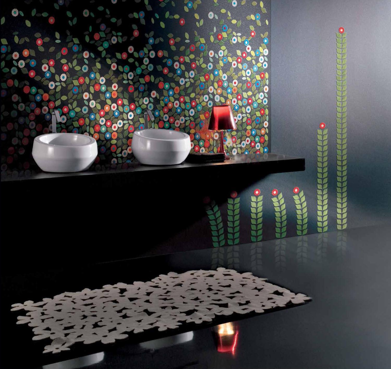 حائط حمام رائع 41 1500x1417 تصميمات حوائط مبهرة في 10 حمامات مودرن رائعة