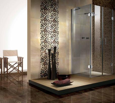 حائط حمام رائع 6