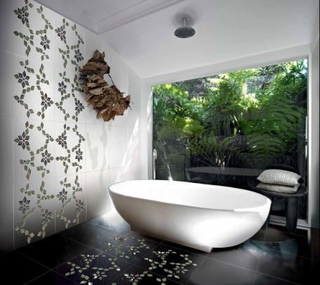 حائط حمام رائع 7