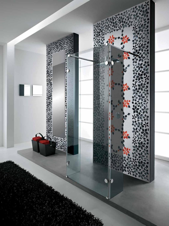 حائط حمام رائع 9 1125x1500 تصميمات حوائط مبهرة في 10 حمامات مودرن رائعة