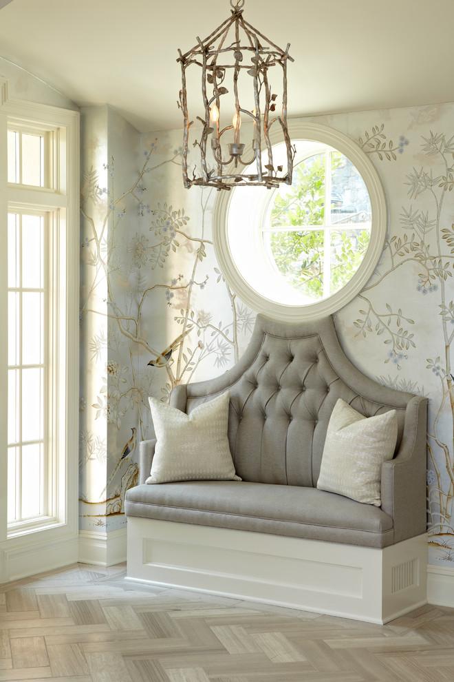 حائط مدخل مزخرف بالرسوم كيف تحولين حوائط منزلك للوحات فنية مبهرة؟