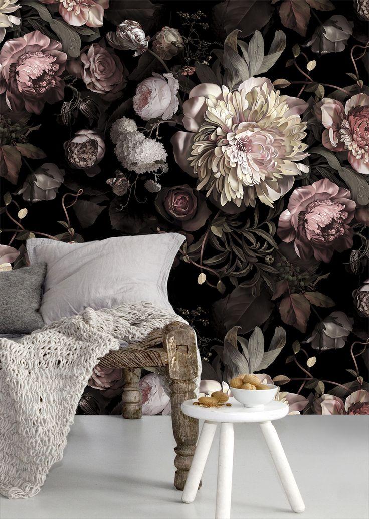 حائط مزخرف بالزهور كيف تحولين حوائط منزلك للوحات فنية مبهرة؟