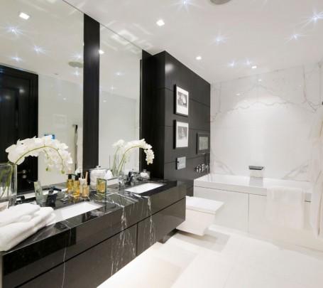 حمام أبيض و أسود 2