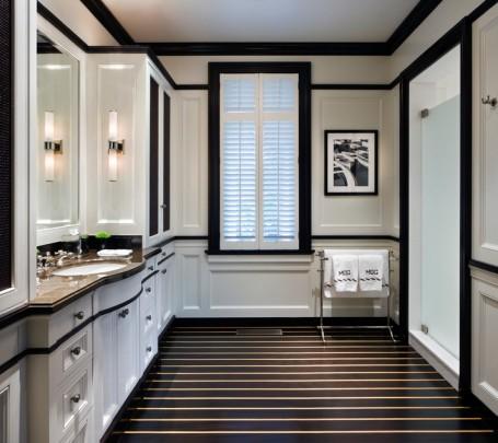 حمام أبيض و أسود 4