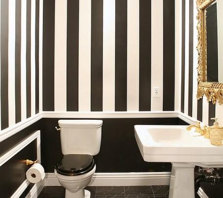 حمام أبيض و أسود 5