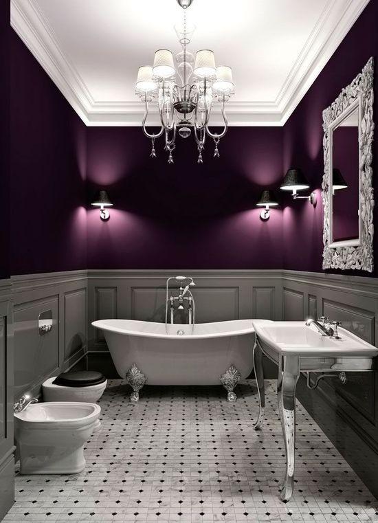 حمام أنيق وفخم 6 حققي الفخامة والرقي في الحمام مع أحواض الاستحمام الكلاسيكية