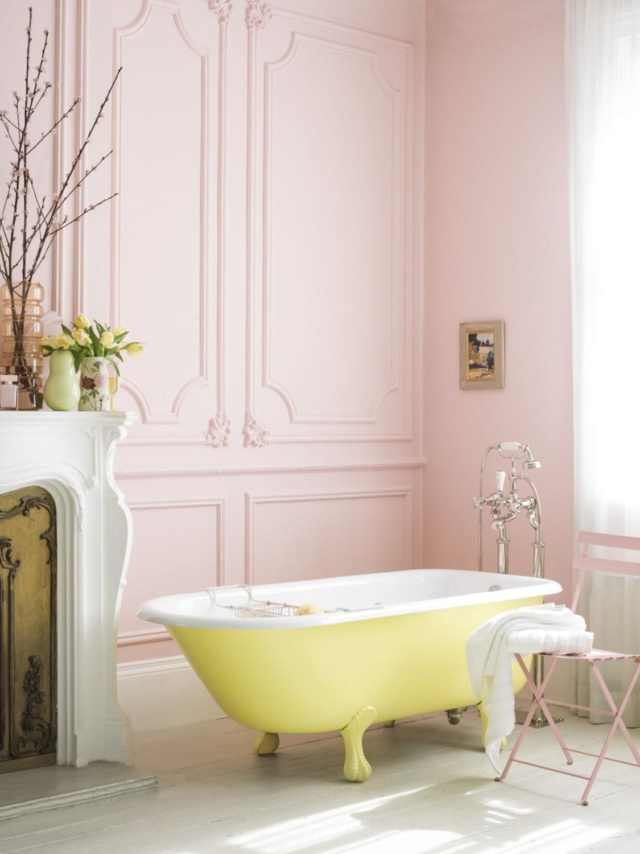 حمام أنيق وفخم 9 1125x1500 حققي الفخامة والرقي في الحمام مع أحواض الاستحمام الكلاسيكية