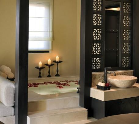 حمام بديكورات شرقية 10