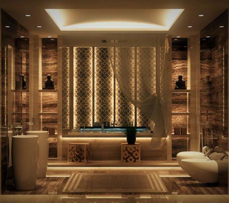 10 حمامات فخمة بلمسات عربية مبهرة