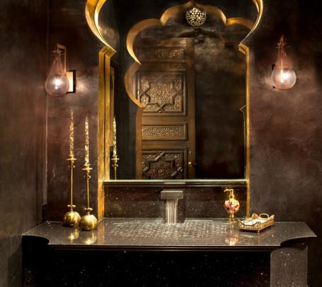 حمام بديكورات شرقية 3