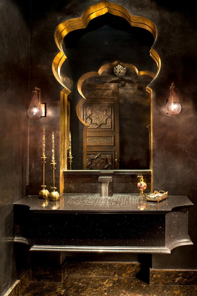حمام بديكورات شرقية 3 10 حمامات فخمة بلمسات عربية مبهرة