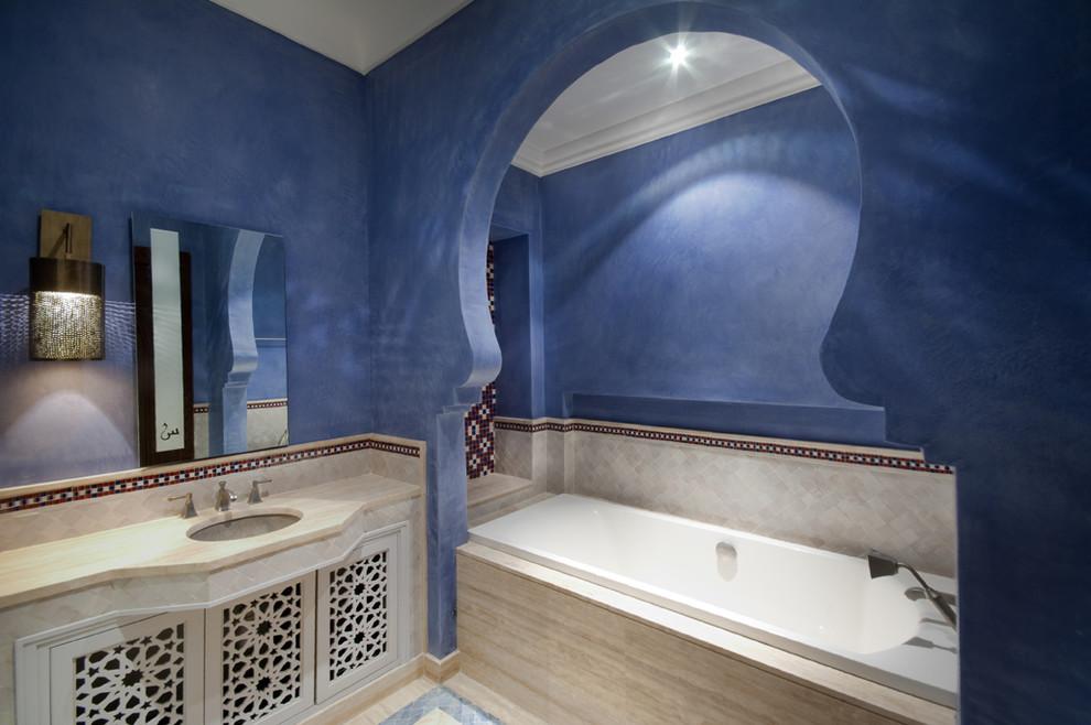 حمام بديكورات شرقية 61 10 حمامات فخمة بلمسات عربية مبهرة
