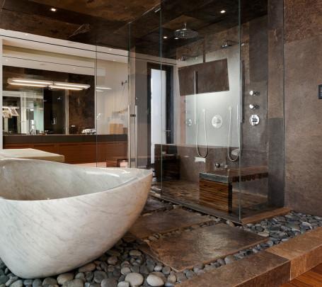 حمام ذو حوائط حجرية 2