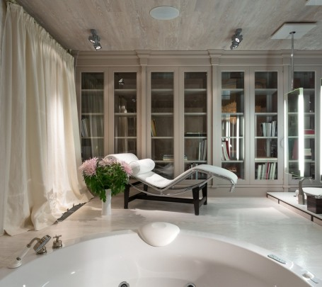 حمام رئيسي فخم 2