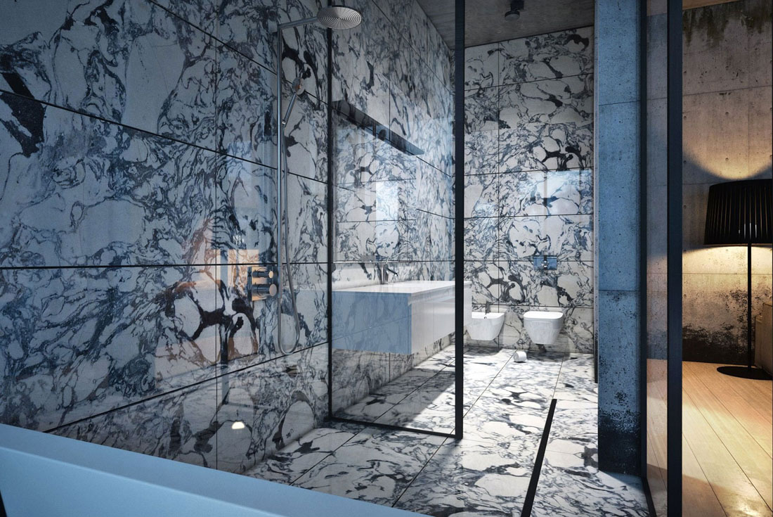 حمام رخام فخم 11 فخامة وروعة الرخام في تصميمات 15 حمام رائع