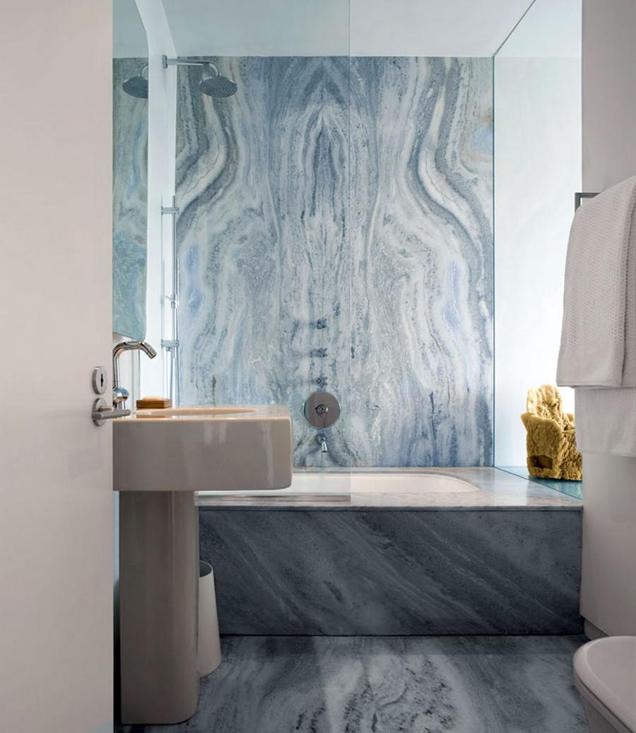 حمام رخام فخم 13 فخامة وروعة الرخام في تصميمات 15 حمام رائع