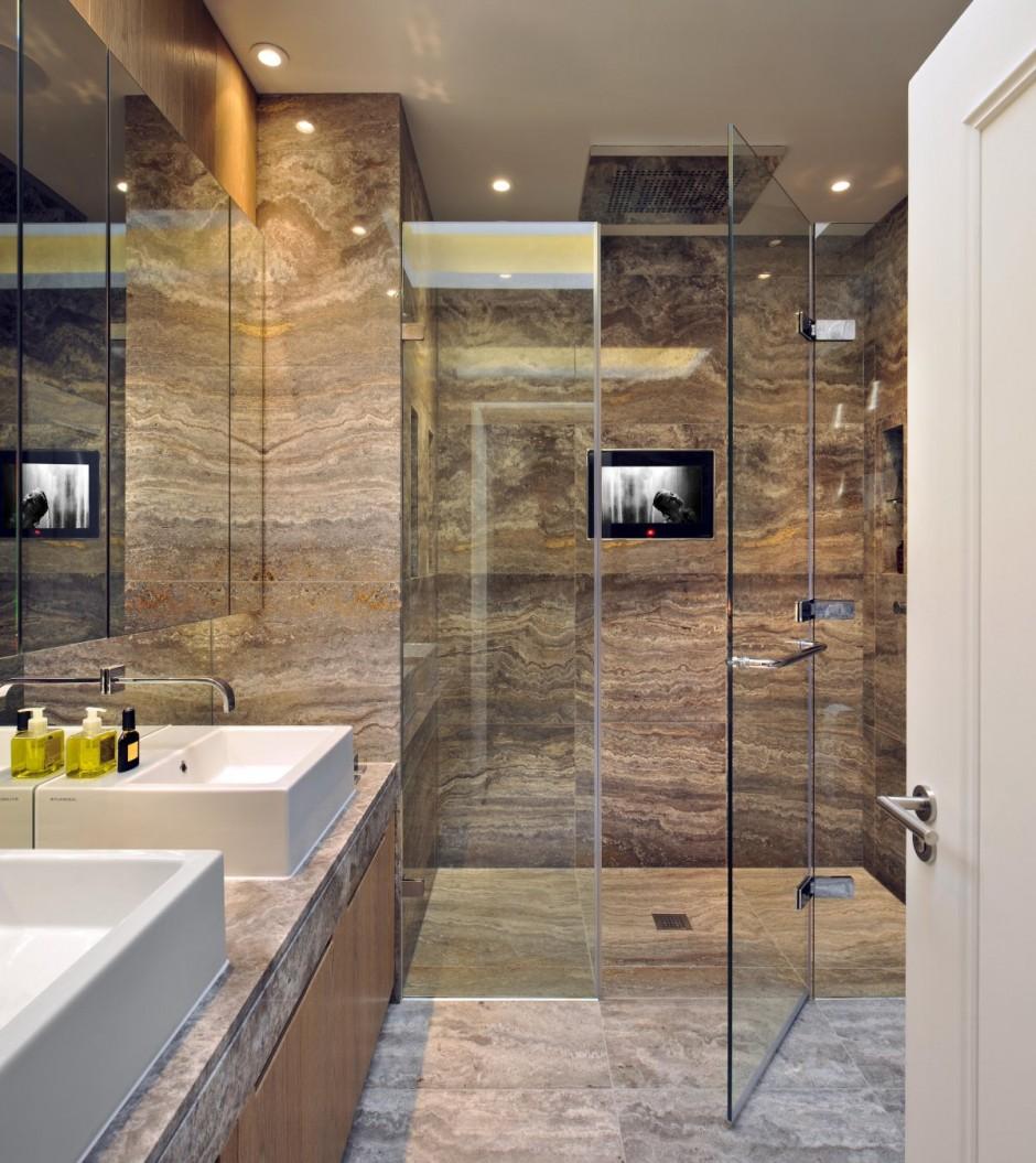 حمام رخام فخم 14 فخامة وروعة الرخام في تصميمات 15 حمام رائع