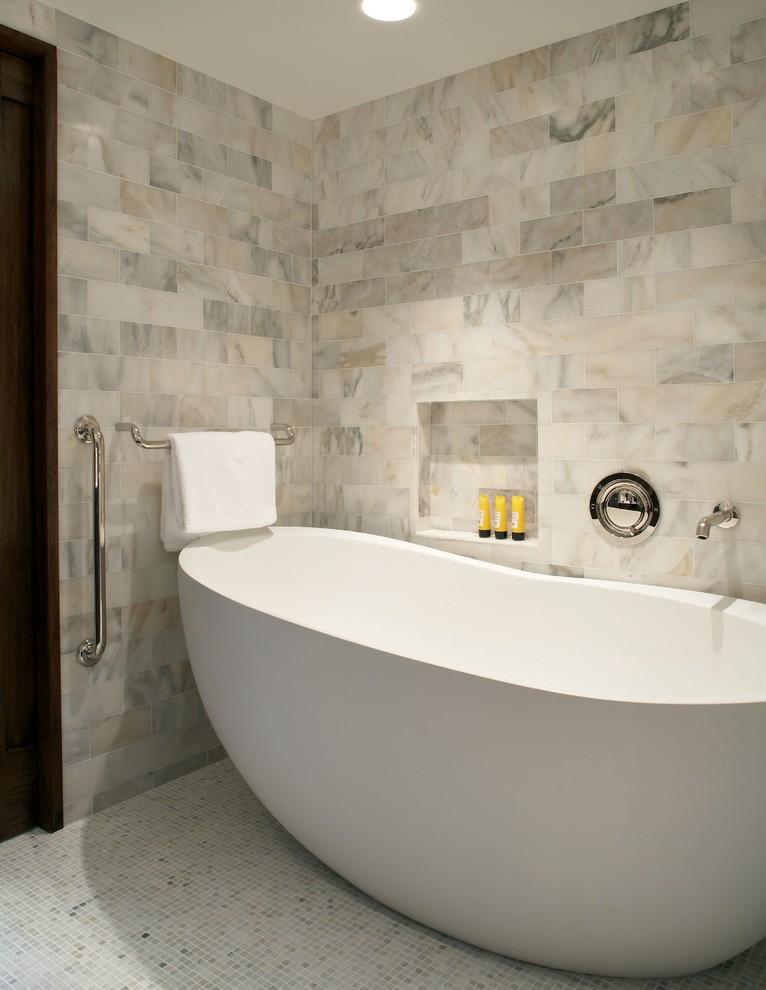 حمام رخام فخم 15 مجلة ديكورات عالم من ديكور المنازل و