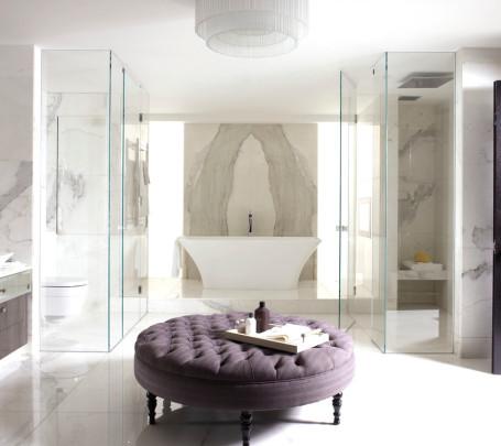 حمام رخام فخم 2