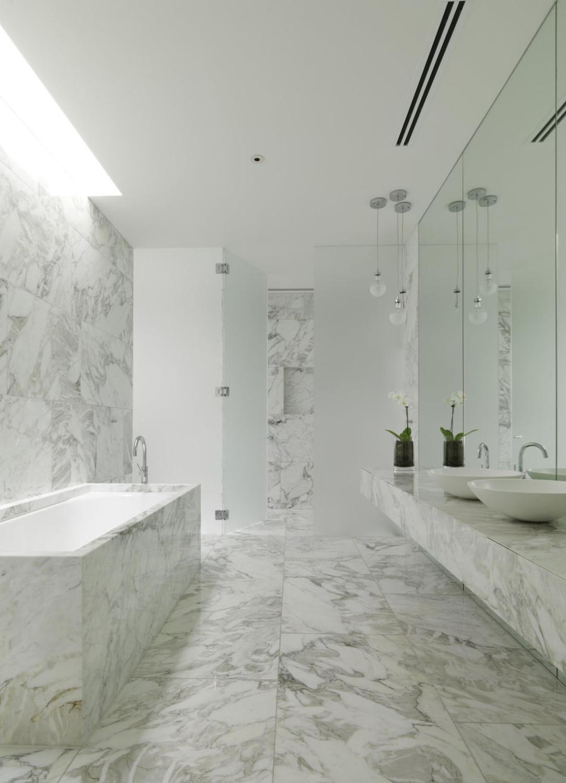 حمام رخام فخم 5 1083x1500 فخامة وروعة الرخام في تصميمات 15 حمام رائع