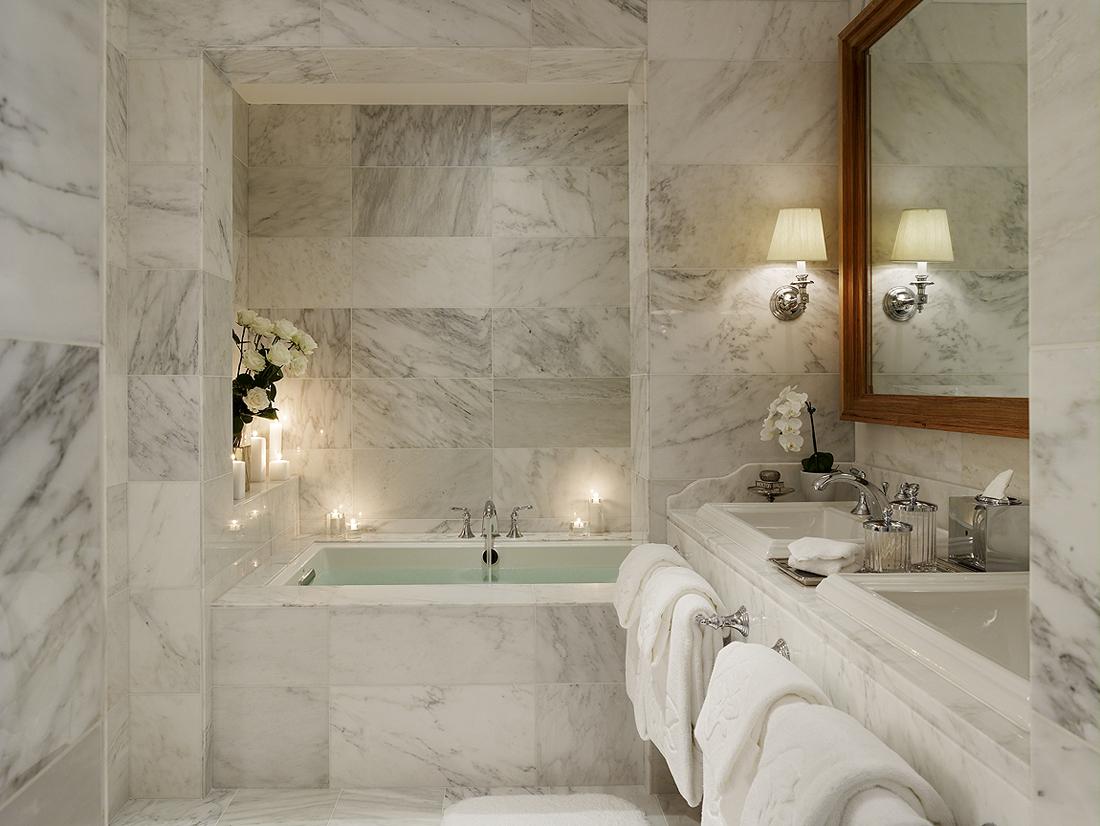 حمام رخام فخم 7 فخامة وروعة الرخام في تصميمات 15 حمام رائع