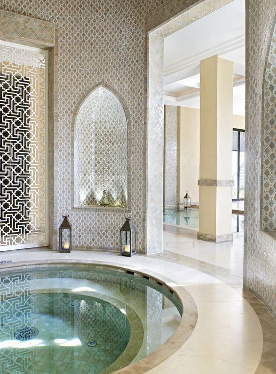 حمام سباحة 1 ديكورات عربية في غاية الفخامة لمنزلك