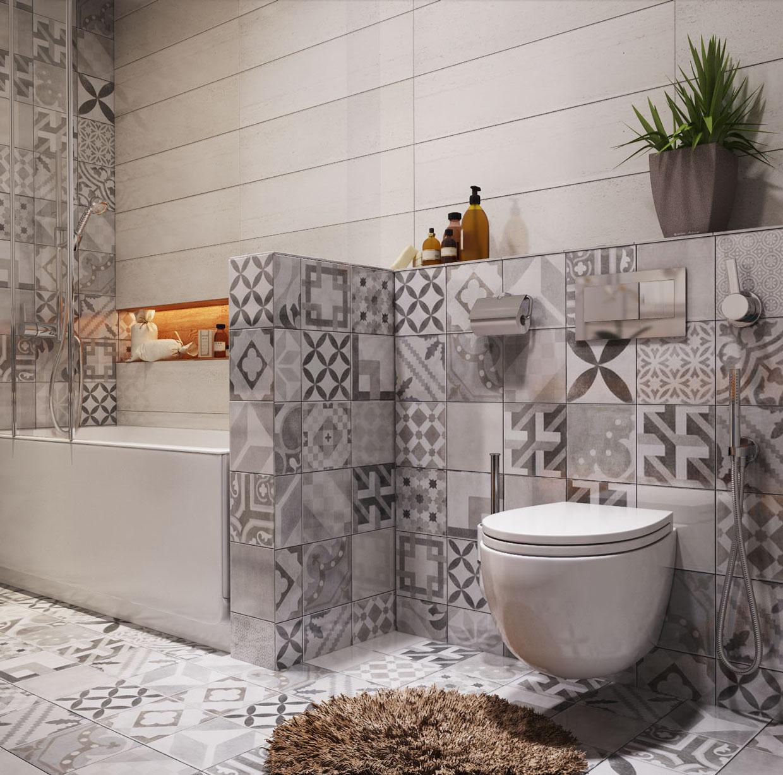 حمام صغير 1ا أفكار ممتازة للمساحات الصغيرة في تصميم شقة سكنية رائعة