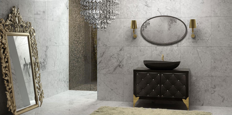 حمام عصري بتفاصيل كلاسيك 1 1500x747 الرقي والجمال في تصميمات حمامات عصرية بتفاصيل كلاسيكية